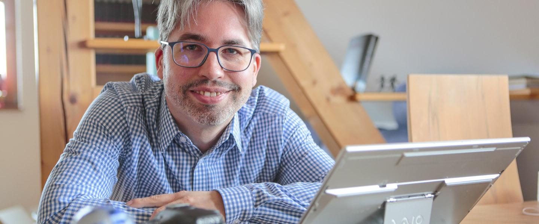 Journalist Johannes Michel